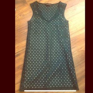 ZARA Green/nude tank dress